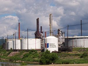 Warren, Pennsylvania - United Refining
