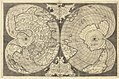 Untitled map of the world on a double cordiform projection, Lafreri atlas, circa 1564.jpg