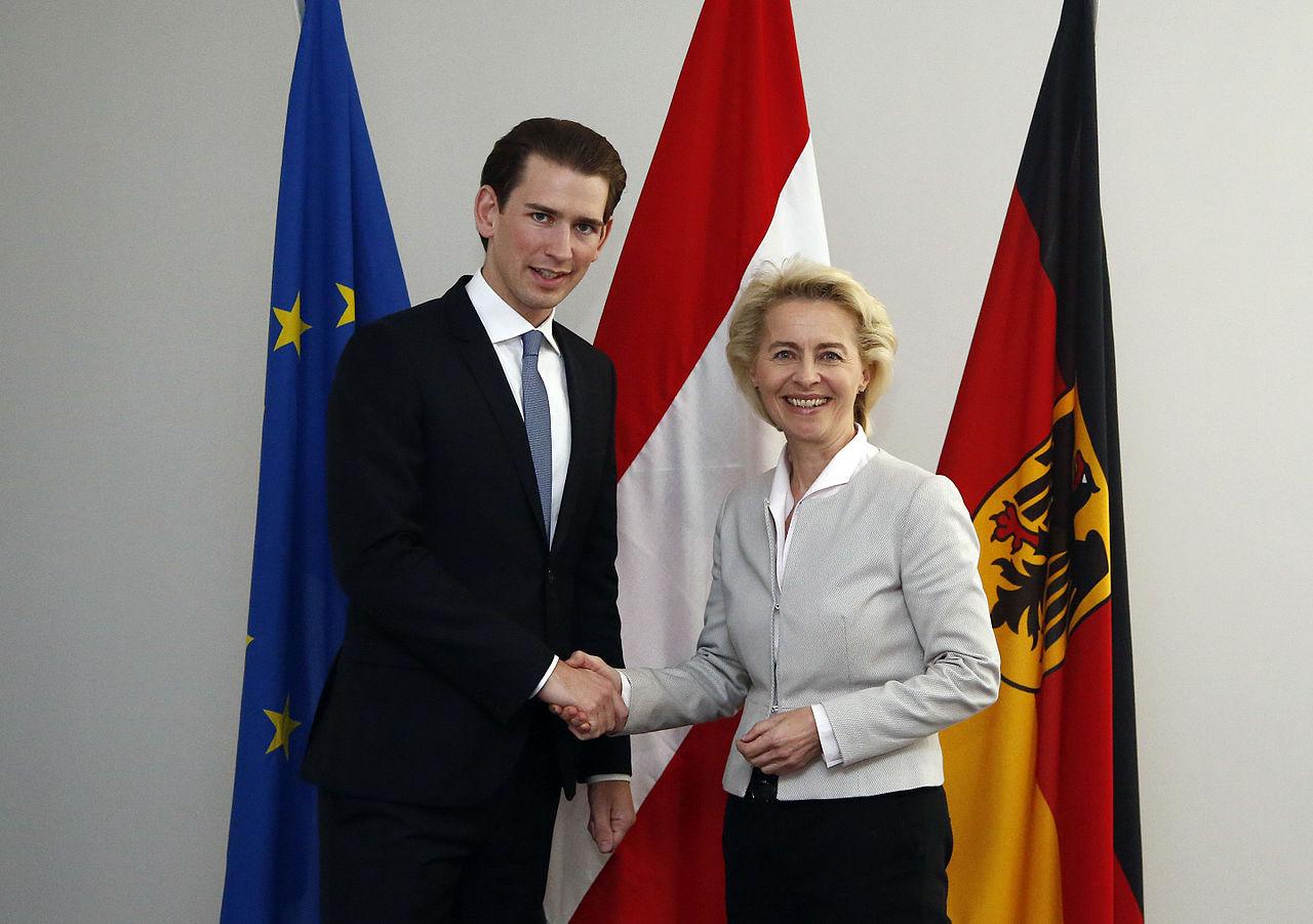 Ursula Von Der Leyen Sebastian Kurz Berlin April 2016 (25799417914).jpg