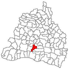 Vị trí của Urzicuta