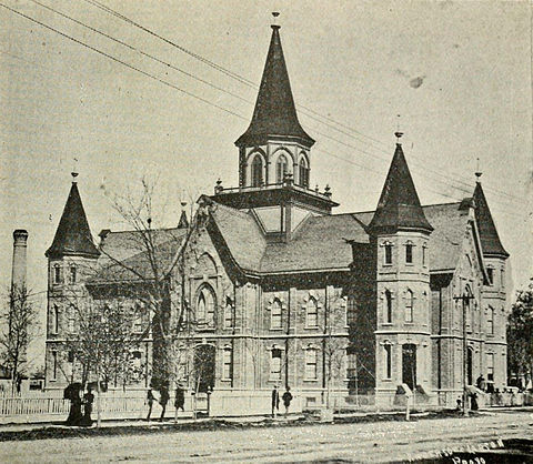 The Provo Tabernacle: 1882-1896