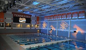 Tennessee Volunteers swimming and diving - Jones Aquatic Center