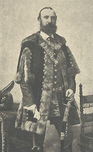 Béla Vörösmarty - Béla Vörösmarty in 1899 (Vasárnapi Újság)