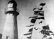 V.P. Day Celebrations at Caloundra Lighthouse, 1945