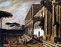 V. Codazzi e D. Gargiulo - Festa nella Villa di Poggiorreale.jpg