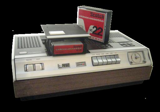 VCR-N1500 Transparent Background