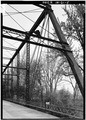 VIEW OF NORTH SIDE, EAST END - Feederdam Bridge, State Route 59, spanning Eel River, Clay City, Clay County, IN HAER IND,11-CLACI.V,1-5.tif