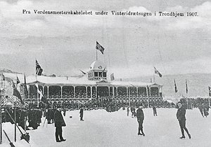 1907 World Allround Speed Skating Championships - Ice rink at the World Championships in 1907