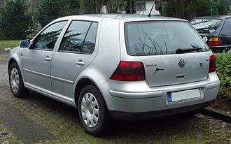 Volkswagen Golf Mk4 - Volkswagen Golf
