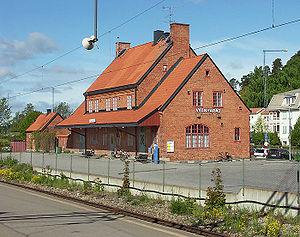 Vagnhärad - Vagnhärad Station