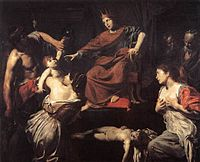 Valentin de Boulogne - The Judgment of Solomon - WGA24249.jpg