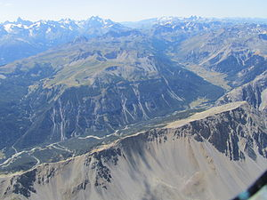 Vallée de la Clarée - Vallée de la Clarée (taken from 3,500 m altitude)