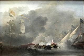 The Battle of Solebay, 7 June 1672