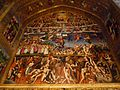 Vank Cathedral - Heaven-Earth-Hell fresco.jpg