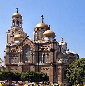 Religion in Bulgaria - Dormition of the Mother of God Cathedral, Varna.