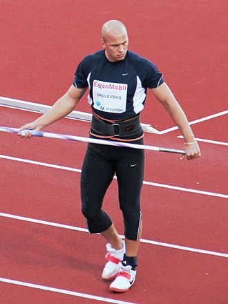 Sport in Latvia - Image: Vasilevskis 2010 06 04 Bislett Games