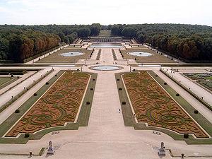 André Le Nôtre - Gardens of the Château de Vaux-le-Vicomte