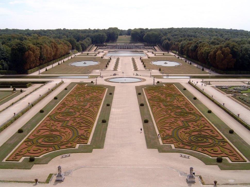 Vaux-le-Vicomte Garten