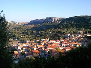 Cargeghe - Image: Veduta di Cargeghe in primavera