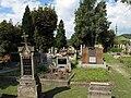 Velké Žernoseky, hřbitov u kostela.JPG
