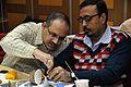 Venkata Durga Prasad Karlapalem and Chandan Das - Art of Science - Workshop - Science City - Kolkata 2016-01-08 9039.JPG