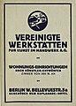 Vereinigte Werkstätten für Kunst im Handwerk A.G., 1914.jpg