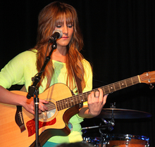 Veronica performing 2012.