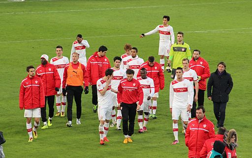 VfB Stuttgart-Team February 2013 by RudolfSimon (Own work) [CC-BY-SA-3.0 (http://creativecommons.org/licenses/by-sa/3.0)], via Wikimedia Commons