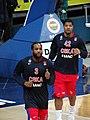 Victor Rudd 3 & Kyle Hines 42 PBC CSKA Moscow EuroLeague 20180316.jpg