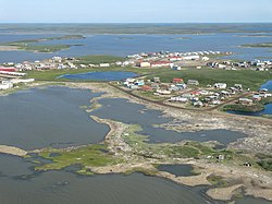 View from Cessna 172 over Tuktoyaktuk, Northwest Territories, Canada.jpg