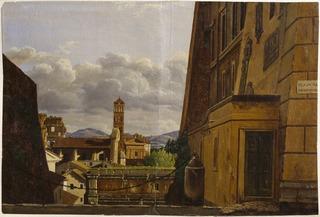 View from Piazza di Campidoglio, Roma