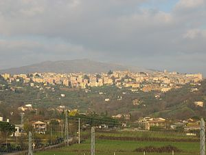 Anagni - The skyline of Anagni
