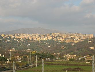 Anagni - The skyline of Anagni