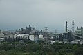 View of petrochemical plants in the north of Miaoli City from a high speed train 02.jpg