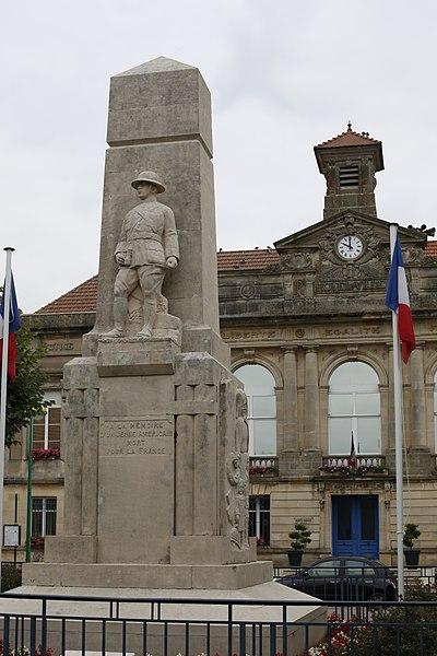 Mairie de Vigneulles-lès-Hattonchâtel.