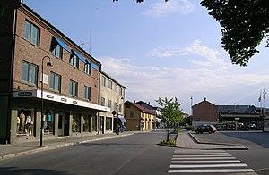 Modum - Image: Vikersund sentrum