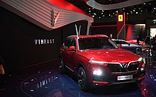 Vinfast SVU Lux SA 2.0 at the 2018 Paris Motor Show