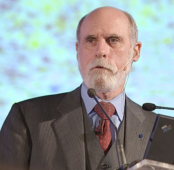 Vint Cerf, North American computer scientist w...