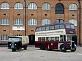 Vintage vehicles at the Brewery Museum, Burton-upon-Trent - geograph.org.uk - 2664314.jpg