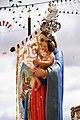 Virgen estrella y estandarte por Chefo.jpg