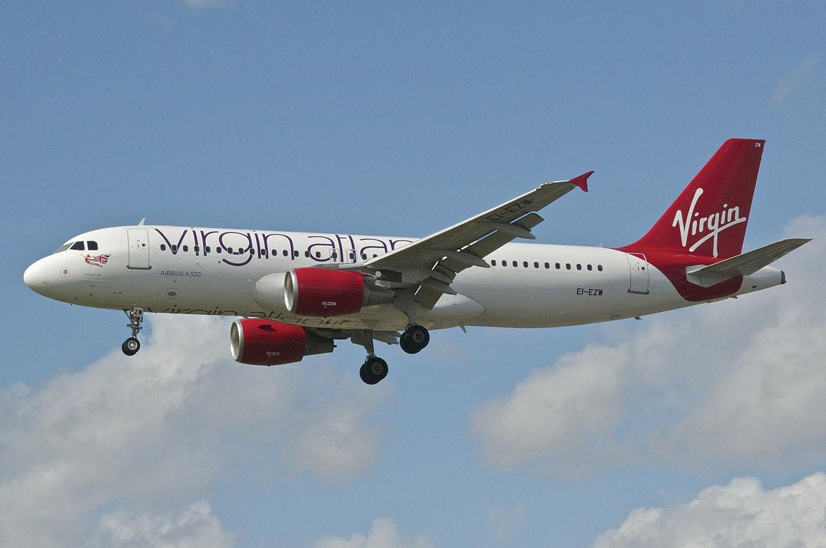 Virgin Atlantic Airlines homepage