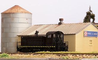 N scale - SW-8 switcher.
