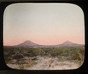 Breast-shaped hill - The thelarchic-shaped Naasa Hablood in Somalia (1896)