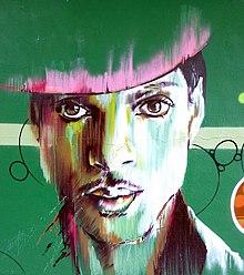 Murales raffigurante Prince