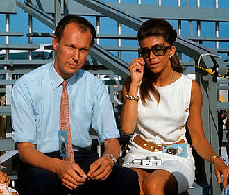 Vittorio Emanuele, Prince of Naples - Vittorio Emanuele and Marina Doria, Cape Canaveral, 16 July 1969