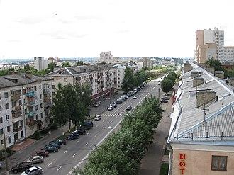 Vladimir Oblast - Image: Vladimir, Oktiabrskiy pr t panoramio