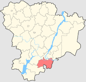 Svetloyarsky District - Image: Volgogradskaya oblast Svetloyarsky rayon