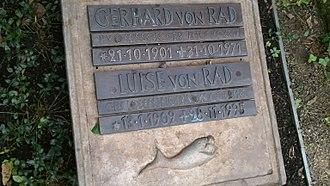 Gerhard von Rad - Gerhard von Rad's grave