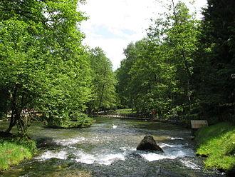 Geography of Bosnia and Herzegovina - Bosna river, Ilidža