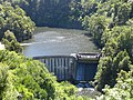 Waipori River dam, New Zealand.JPG